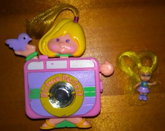 Sweet Secrets Picture Perfect Doll w/ Bonus Tiny Cute Doll 80s Toys Free Shipping