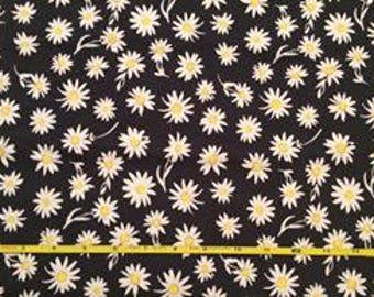 NEW Art Gallery Flower Glory Evening on cotton Lycra  knit fabric 1 yard.