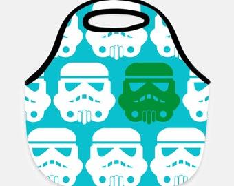 Star wars lunch bag - Lunch bag - Kids bag - School lunch - Darth Vader - Customized School lunch bag - Neoprene bag - Stormtrooper bag