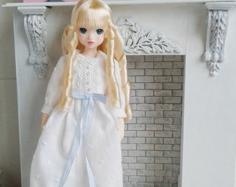 Douce dress for Ruruko, pure neemo XS doll