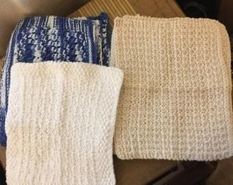 Handknit XL Cloths -- Great Gift!