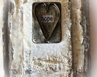 Handmade one of a kind Blank Book Journal....hope