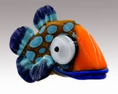 Aardvark's GLADYS The Spotted Shovelnose Fish Bead
