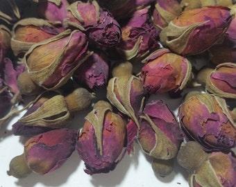 Organic Red Rose Buds