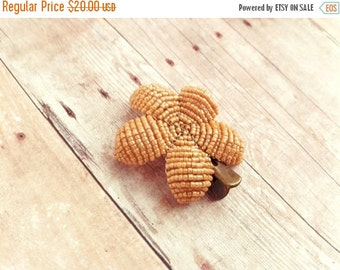 INVENTORY CLEARANCE Butterscotch Hair Clip or Brooch - Ododo Originals