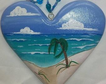 Beach Lover Hearts