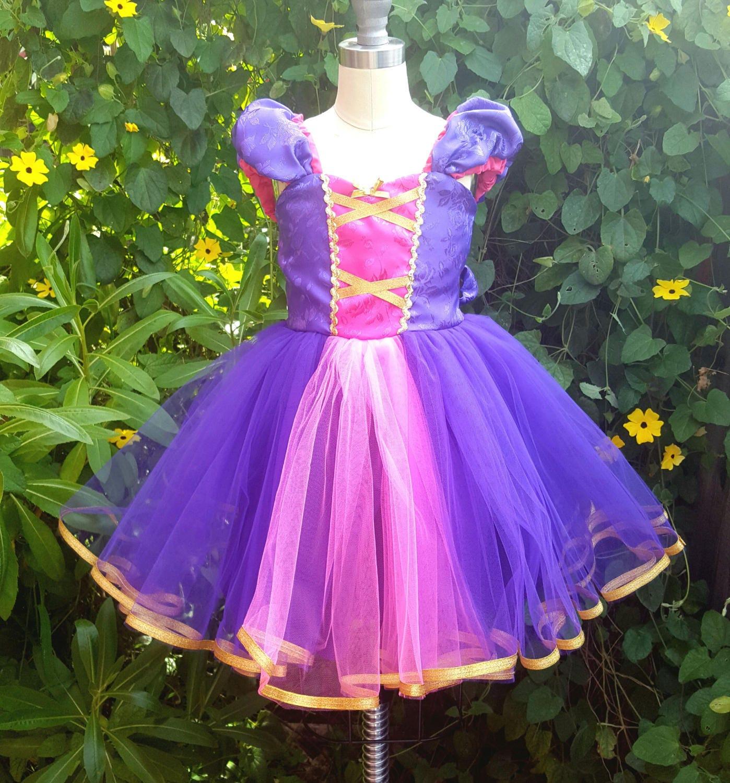 Purple Princess RAPUNZEL dress ...