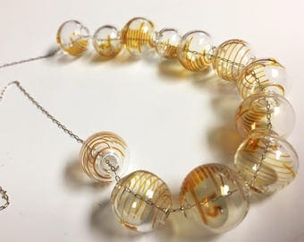 25ml glass bead necklace