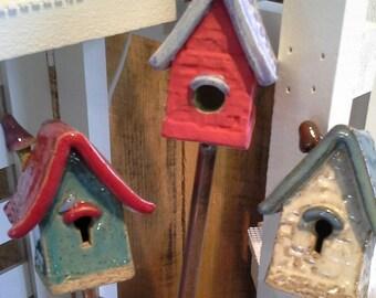 Garden Fairy/Pixie/Gnome Planter Herb House Handmade Whimsical Magic Homes for Garden Friends