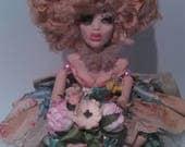 Custom Ooak Art Doll Lotte for Debbie by Moninesfaeries