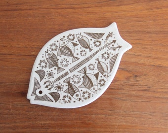 Norway Porsgrund Fish Trivet
