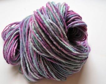Blitz.  Handpainted Wool Yarn 3 ply Aran Weight