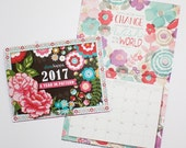 2017 Limited Edition Wall Calendar / Print and Pattern / Inspirational Quotes / Diane Kappa