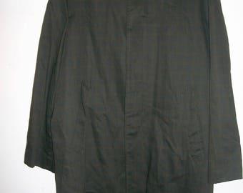 COOL Vintage 50s 60s men's overcoat Coat 42R 42 regular L