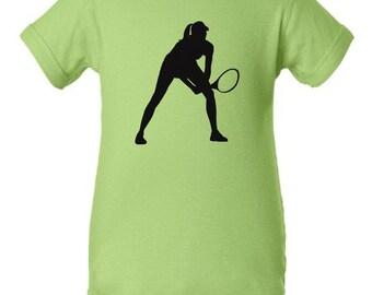 Tennis infant bodysuit - MORE COLORS AVAILABLE