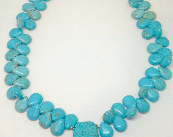 Item # 201746 Camie, Handmade Jewelry, HandCrafted Turquoise Necklacesl.