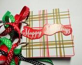 Christmas Mini Scrapbook Album, Christmas Mini Album, Christmas Photo Album, Christmas Brag Book, Christmas Album, Christmas