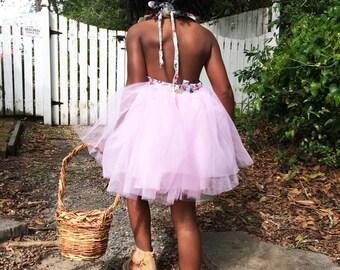 Eco Friendly, Rustic, Flower Girl Basket, Bucket, Outdoor Wedding, Wisteria, Easter Basket, Wild Vine, Dark Wicker, LHW