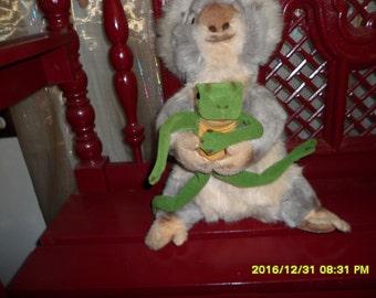 12 inch Steiff Frog and 18 inch Koala Bear Friend