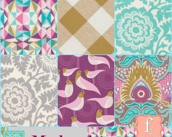 Modernist 6 Six Piece Fabric Bundle  - Joel Dewberry - You Choose the Length