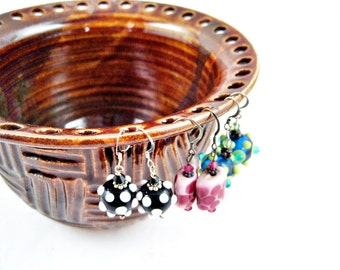 Earring holder, Earring bowl, Jewelry Bowl, organizer - In stock