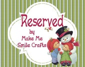 Reserved for JANE