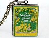 The Wizard of Oz, Wonderful Wizard of Oz, L. Frank Baum,  American Children's Novel, Musical Film, Dorothy, Toto, Wicked Witch, Book Locket