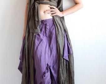 Fly away jacket/dress... M Size ..Boho/hippie/bohemian/Red/Funky/Funtime