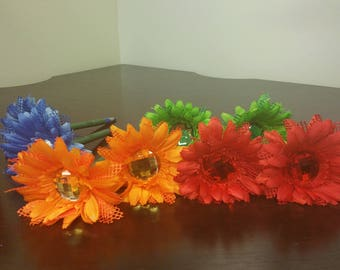 Jumbo Bling - Primary Color Pens (ready to ship)  19.99