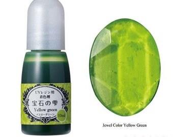 211868 Padico yellow-green liquid coloring for UV Resin from Japan