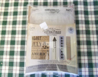 Jim Holtz  Alterations Texture Fades Sizzix 657489 Never used