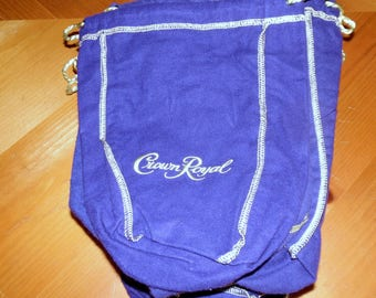 15  Crown Royal Bags for all of Your Crafting Needs 7 X 9 Inches ECS SVFT