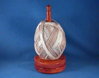 Cedar Yarn/Thread Holder - Specialty Lacquer Finish