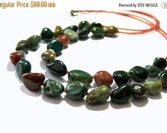 On Sale Fancy Jasper Chunky Necklace Double Stranded Necklace Jewelry for Women Statement Jewelry Gift Ideas