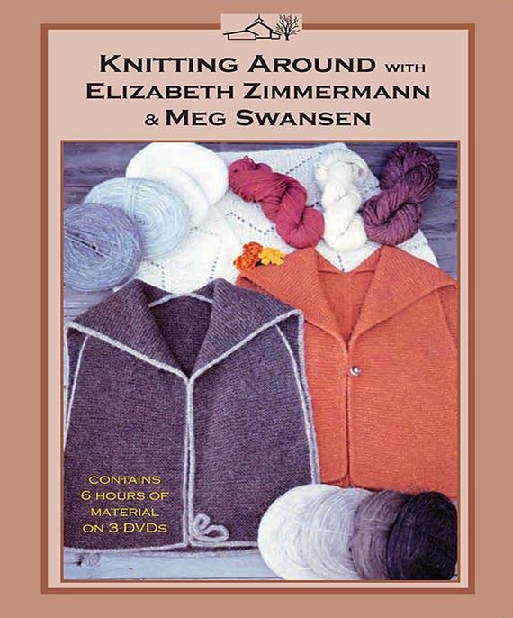 Knitting With Two Colors Meg Swansen : Knitting around elizabeth zimmerman and meg swansen dvd
