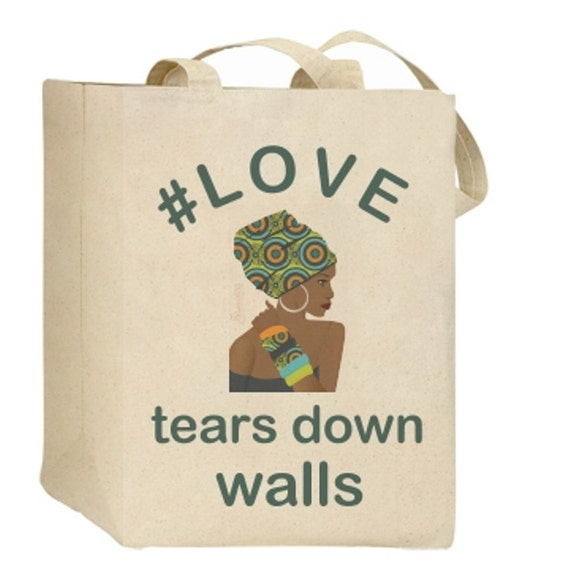 African Print Canvas Tote Bag Gifts for women African print