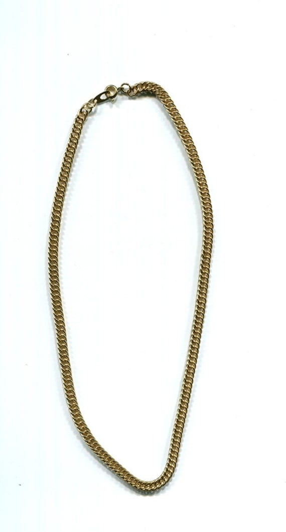 gold necklace chains 4mm curb link chain  jewelry gold chains supply findings