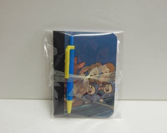 Up cycled MINI Composition Book Disney Peter Pan