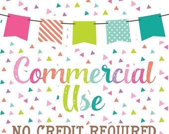 50% OFF SALE UP To 25 Sets - Commercial Use No Credit Required for Clipart & Digital Papers