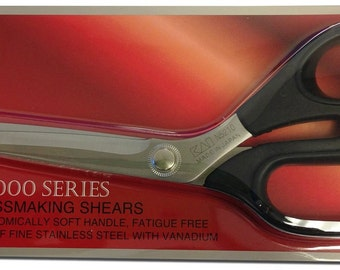 Kai N5210 8-inch Dressmaking Shears- Finest Quality Scissor with a Soft Handle~ZipperStop Wholesale Authorized Distributor YKK®