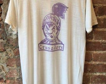 Riordan crusaders vintage tshirt super thin