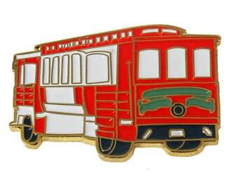 San Francisco Trolley Pin