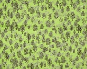 Moda Fabric - Ingrid Slyder Brown & Gray Winter Trees Winter Wonderland /Yd