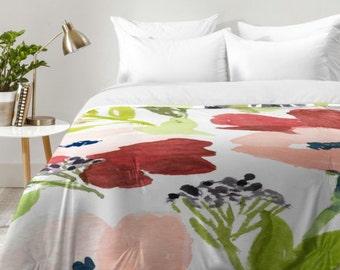 Pink Poppies Comforter