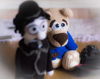 Crochet toy Amigurumi Pattern -Big Velvet Bear.