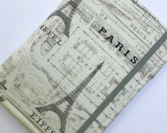 Nook Glowlight Plus Cover, Kindle Paperwhite Cover, all sizes,  Eiffel Tower Paris Tablet hardcover Cover