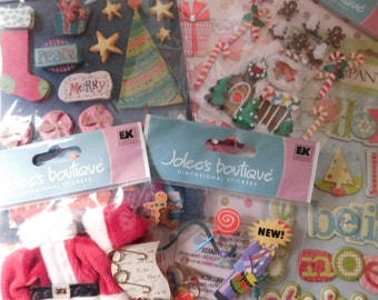 Christmas in July Sale - Christmas and Holiday Embellishments and Stickers - Jolee's Boutique K & Company