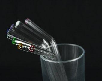 Bent Glass Straw