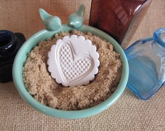 Heart Brown Sugar Keeper sugar softeners Sugar keeper Brown Sugar Saver Essential oil disk