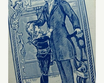 ON SALE Antique 1906 FAUNTLEROY The Earl Collector Trade playing card  Lot